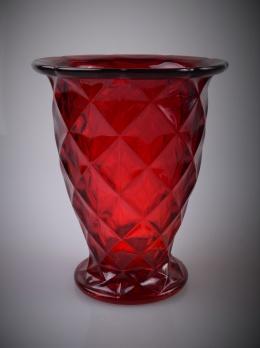 presset glas vaser